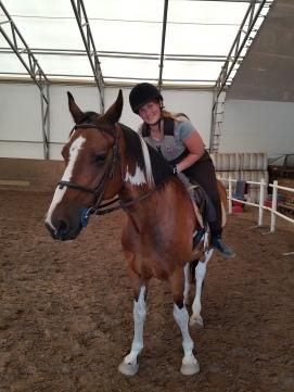 Tina og hesten Imperial